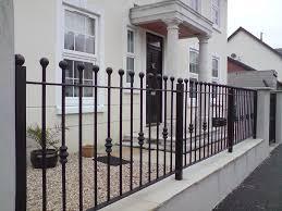 wrought iron garden fence yard u2014 bitdigest design new wrought