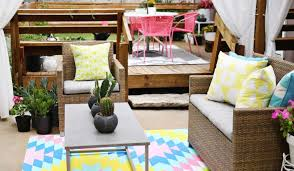 indoor outdoor space rugs jcpenney patio furniture thehomelystuff wonderful pink