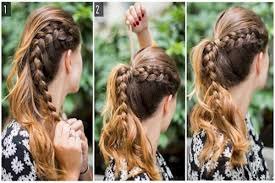 hairstyles using rubber bands 8 super simple hairstyles for lazy girls chikk net
