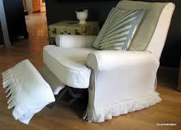 slipcover for recliner chair blue roof cabin recliner slipcover tutorial