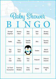 shower games for boys bingo baby pinterest babies winter bingo