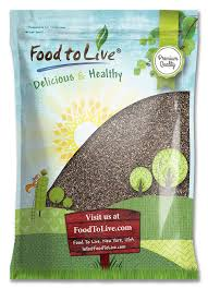 amazon com food to live chia seeds 10 pounds cooking and
