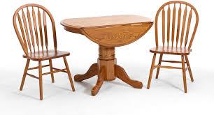 Drop Leaf Oak Table Intercon Dining Room Classic Oak Solid Oak Drop Leaf Table Co Ta