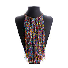 african beads necklace images African beaded necklace images jpg