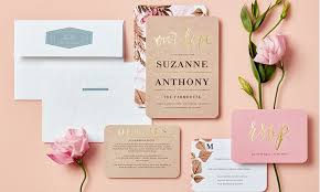 customized wedding invitations custom wedding invitations wedding paper divas groupon