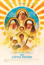 raunchy nun comedy the little hours gets a nasty heavenly poster