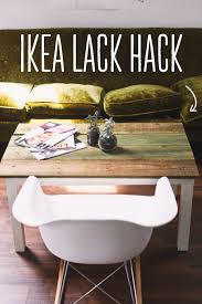 lack end table hack ikea hacks 3 easy steps to create your own ikea coffee table