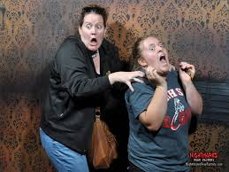 Scariest Halloween Haunted Houses In America by Funny Reactions To Nightmares Fear Factory Business Insider