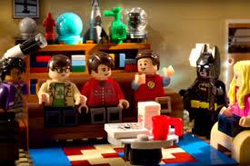 big bang theory floor plan lego batman takes over the big bang theory ew com