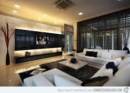 Tv Wall Decoration For Living Room Living Room Television Design Home Design Interior