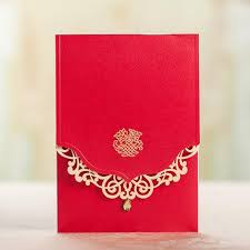 Red And Black Wedding Invitations 2015 Laser Cut Diamond Red Gold Wedding Invitations Card Save The