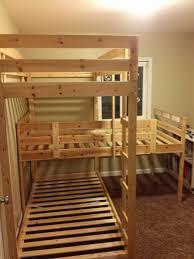 bedroom walmart bunk beds twin over full triple bunk bed ikea