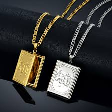 floating locket necklace chains images Buy floating locket charms islamic jewelry choker jpg