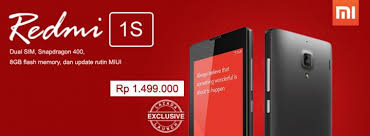 Xiaomi Indonesia Xiaomi Redmi 1s Sold Out In Indonesia In 7 Minutes