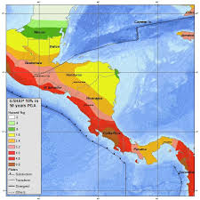 earthquake hazard map san pedro belize residents report feeling last night s 5 1