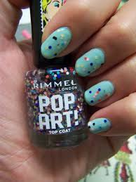 rimmel pop art nail topcoat mini review u2013 the who had