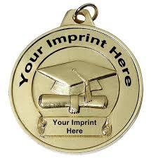 graduation medallion custom medallion graduation cap and scroll s