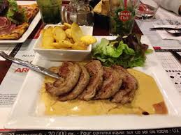 bureau colombes filet d agneau sauce ail doux au bureau colombes picture of au