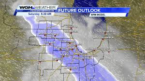 Chicago Weather Map by Chicago Area Could See Its First Snow In 76 Days Wgn Tv