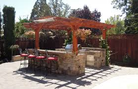 outdoor outdoor kitchen with pergola outdoor kitchen pergola and bamboo shades outdoor kitchen pergola plans designs pergolas full size