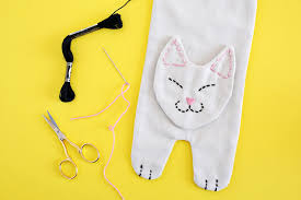 cats afterpains kitty rice heating pack diy a beautiful mess