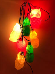 Owl Patio Lights Vintage Wise Owl Cing String Lights Mold Patio