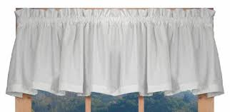 How To Sew A Curtain Valance Wide Pocket Curtain Valances Amazon Com