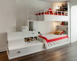 partager une chambre en deux un lit superposé déco pour une chambre ado fille partagée