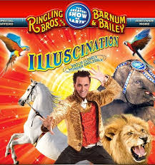Barnes And Bailey Circus Ringling Brothers And Barnum And Bailey Circus Present U201cilluscination U201d