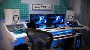 danyella building an electronic music studio studiodesk herman