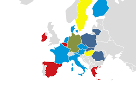Map Of The European Union by How Europe Will Break On Brexit U2013 Politico