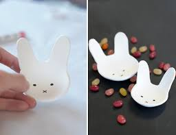 diy easter projects bunny clay bowls design joy
