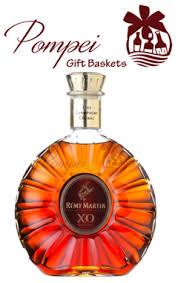 high end gift baskets remy martin xo excellence cognac from pompei baskets