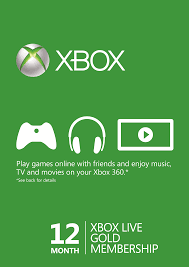 cheapest price to buy 12 month xbox live gold membership on the