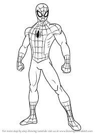 ultimate spiderman cartoon drawing cartoon ankaperla