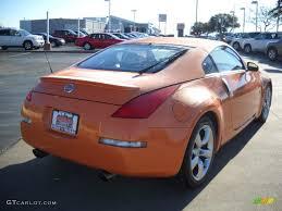Nissan 350z Orange - 2007 solar orange pearl nissan 350z enthusiast coupe 24148647