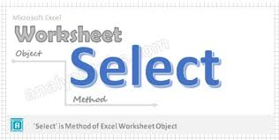 select worksheet method vba explained with examples