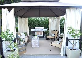 Outdoor Gazebo With Curtains by Outdoor Cabana Curtains Instacurtains Us