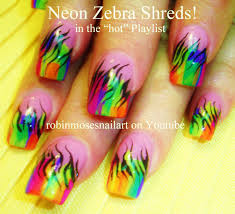 nail art zebra designs nail art designs zebra nail art and