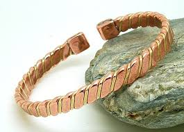 magnetic bracelet with copper images Flattened copper brass magnetic bracelet magnets bangles jpg