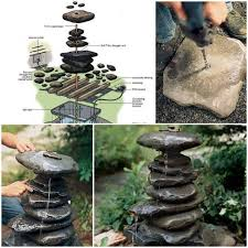 Diy Patio Fountain Wonderful Diy Water Garden Fountain