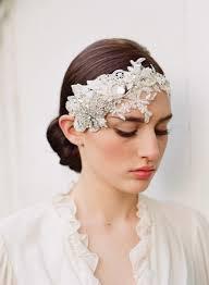 bridal headpiece floral bridal headpiece rhinestones lace headband embellished