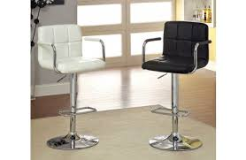 zuo crystal tufted leather bar stool