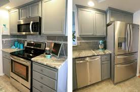 Touch Up Kitchen Cabinets Decoart Blog Diy Easy Kitchen Cabinet Makeover