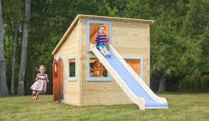 playhouse 725 wooden cedar playhouse is splinter free chemical