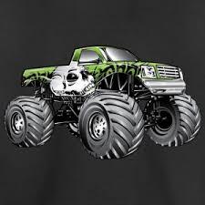 monster truck shirt shirts design concept
