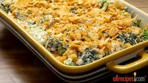 allrecipes thanksgiving casserole recipes broccoli cheese casserole youtube