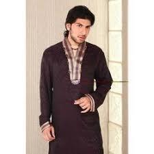 designer embrodied kurta with v neck raja sahab jaipur id