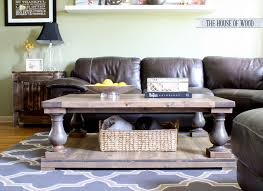 Plans For Wooden Coffee Tables by Diy Restoration Hardware Coffee Table