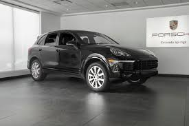 porsche cayenne all black 2017 porsche cayenne platinum edition for sale in colorado springs